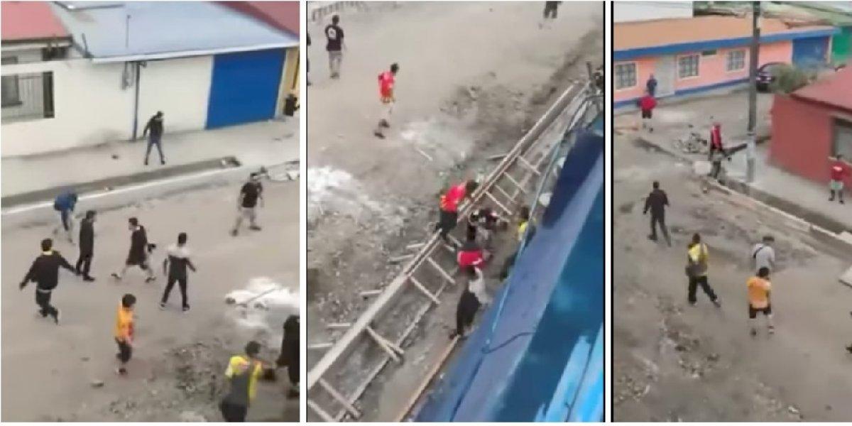 VIDEO: Sangrienta batalla campal entre aficionados en Costa Rica