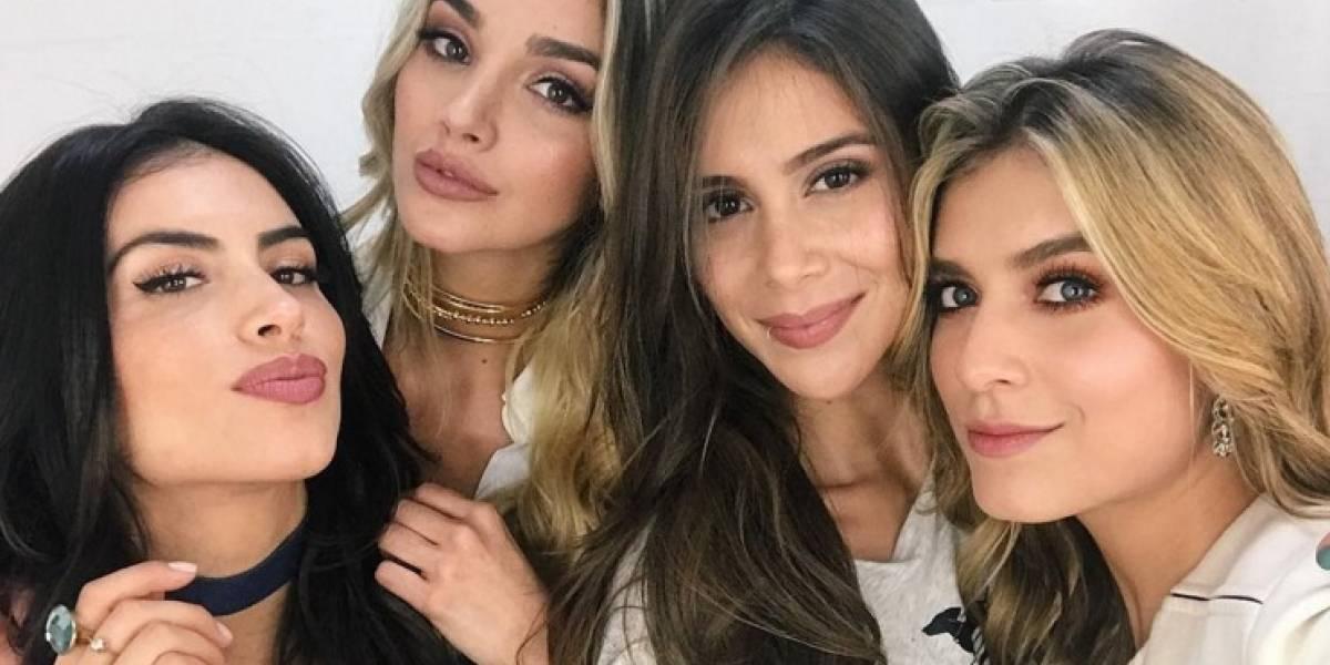 ¿Qué es lo que traman Jessica Cediel, Greeicy Rendón, Laura Tobón y Melina Ramírez?