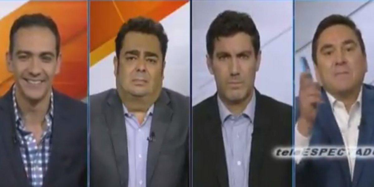 VIDEO: Periodista panameño ataca a la prensa mexicana y comentaristas de ESPN lo ponen en su lugar