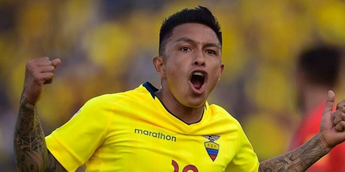 Cristian Ramírez habló sobre el partido ante Brasil