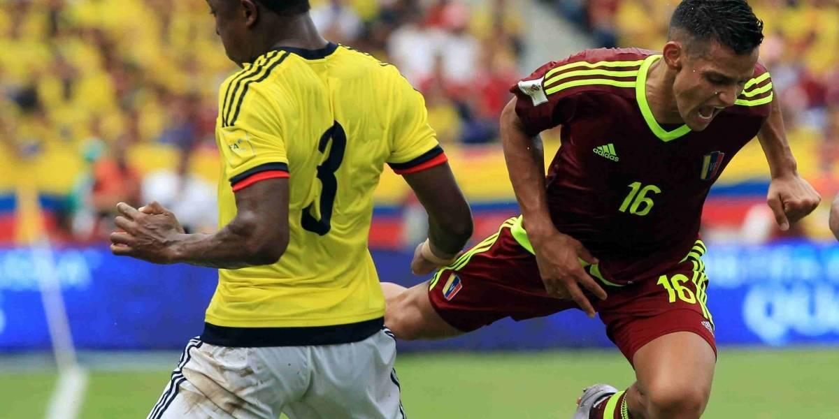 Conozca cuál será la alineación titular de Colombia ante Venezuela