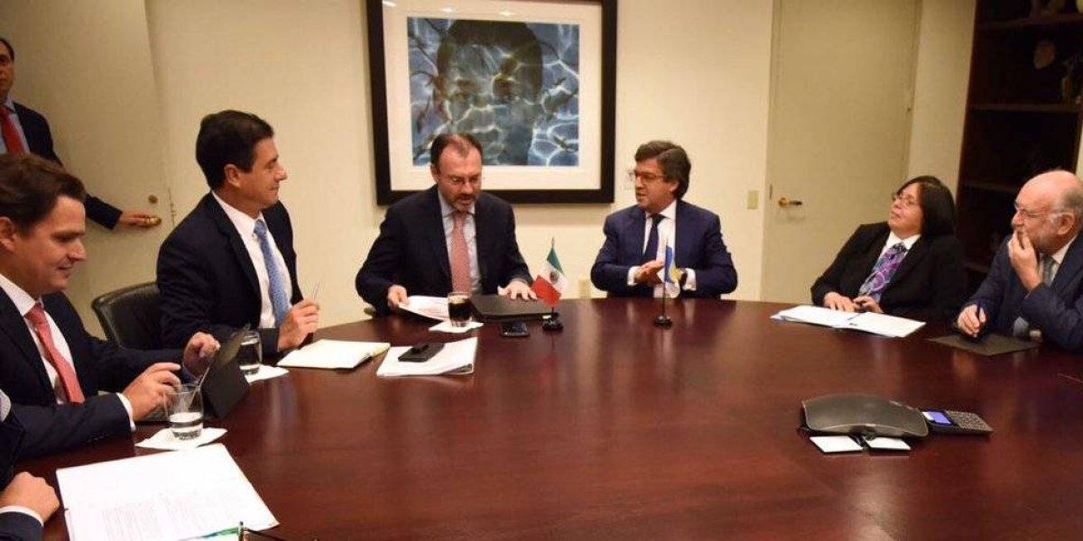 Videgaray y Guajardo se reúnen con negociadores claves del TLCAN en EU