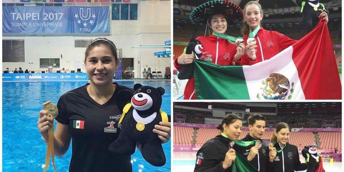 México hace historia en la Universiada Taipéi 2017