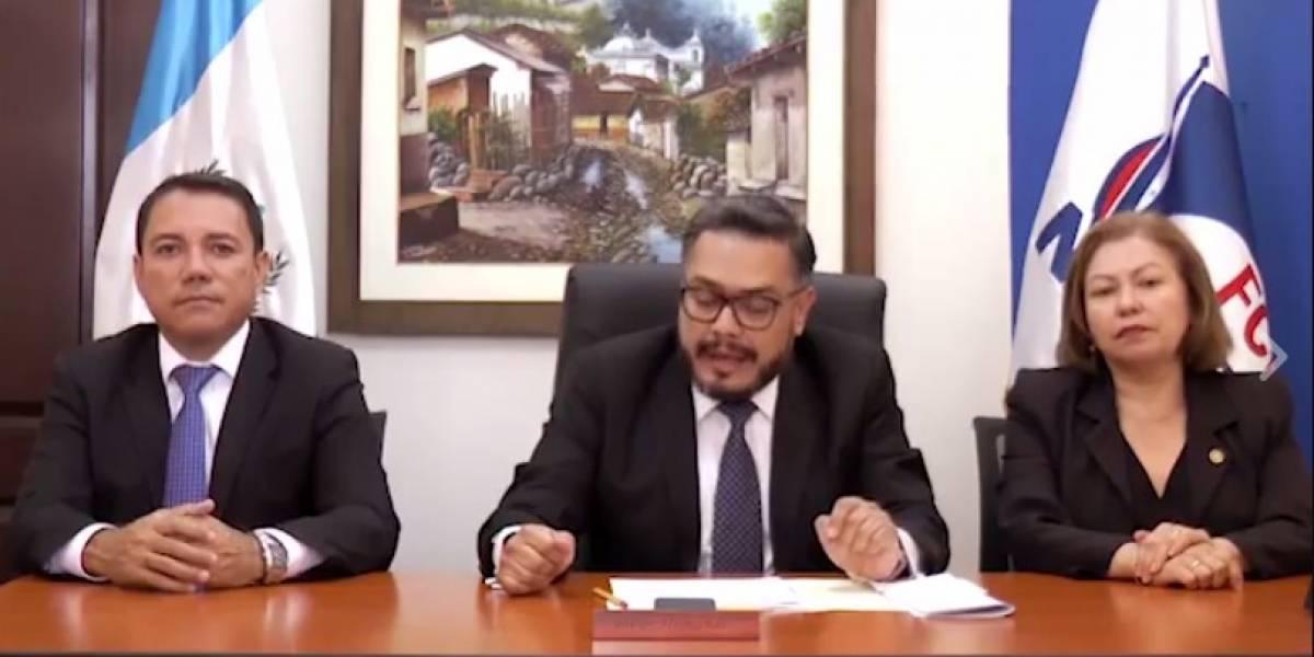 Diputados oficialistas insisten en que jefe de la CICIG debe irse del país