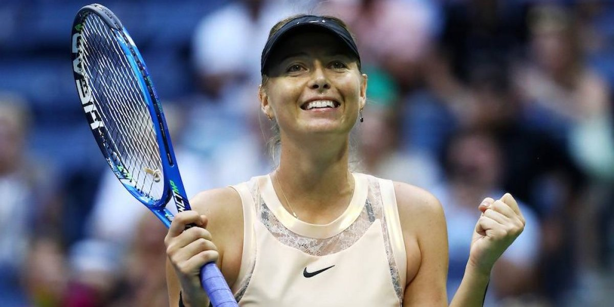 Maria Sharapova avanza a la tercera ronda del US Open