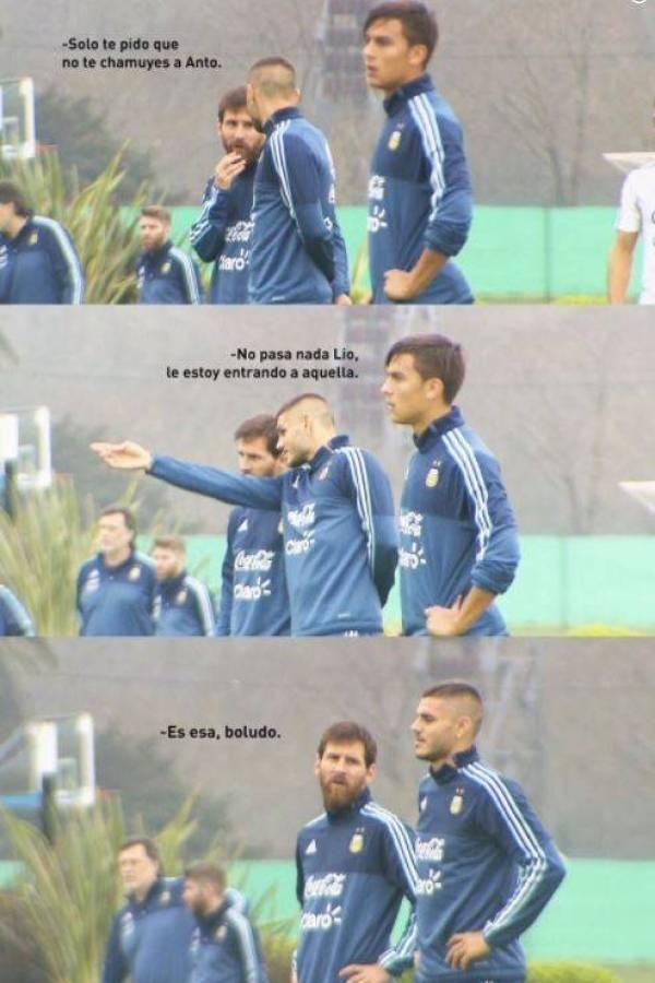 Meme Messi e Icardi