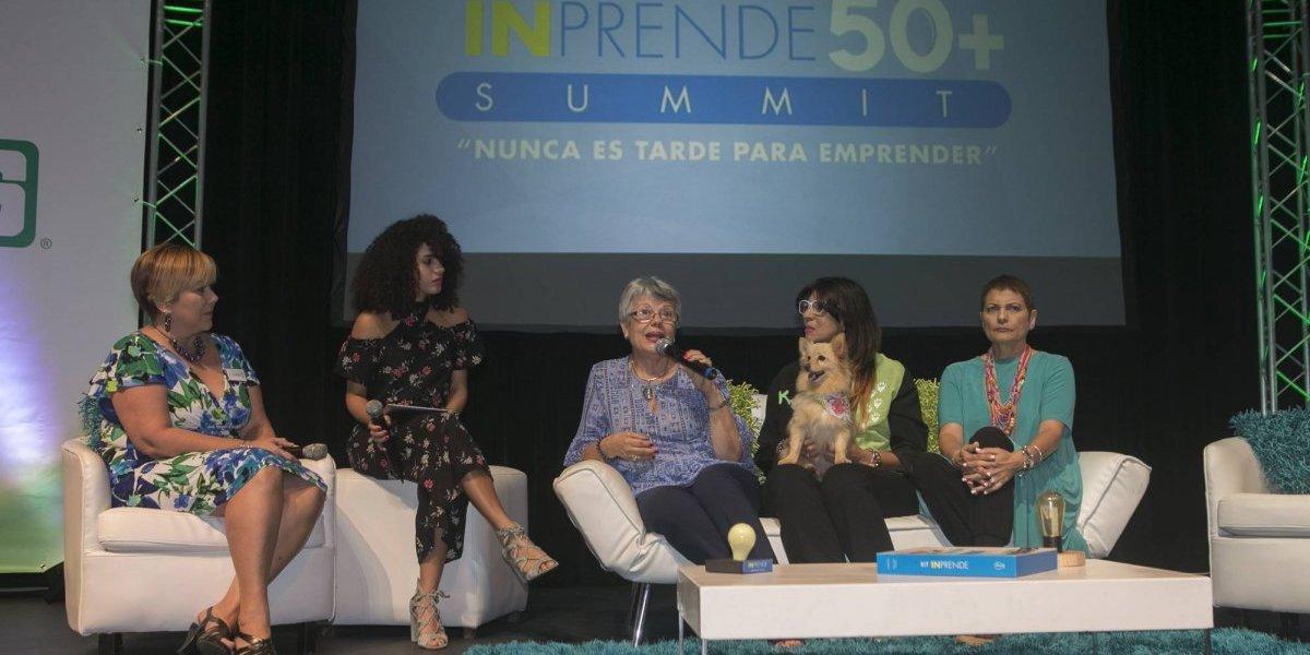 Celebran segunda edición de INprende 50+