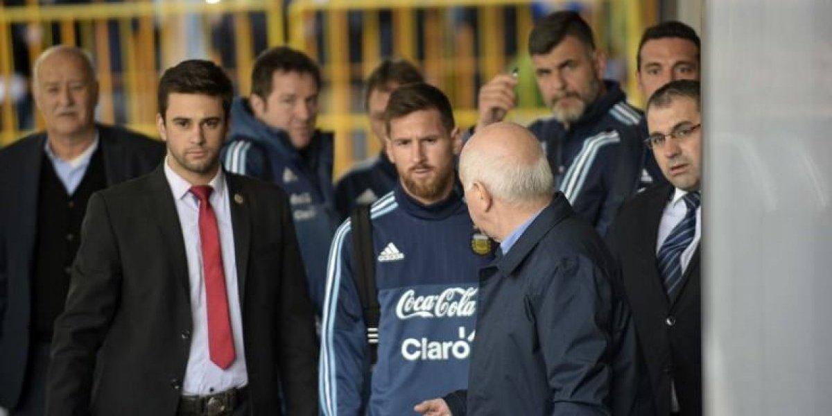 Messi hace realidad el sueño de un niño uruguayo