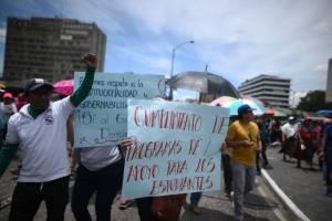 Manifestación maestros