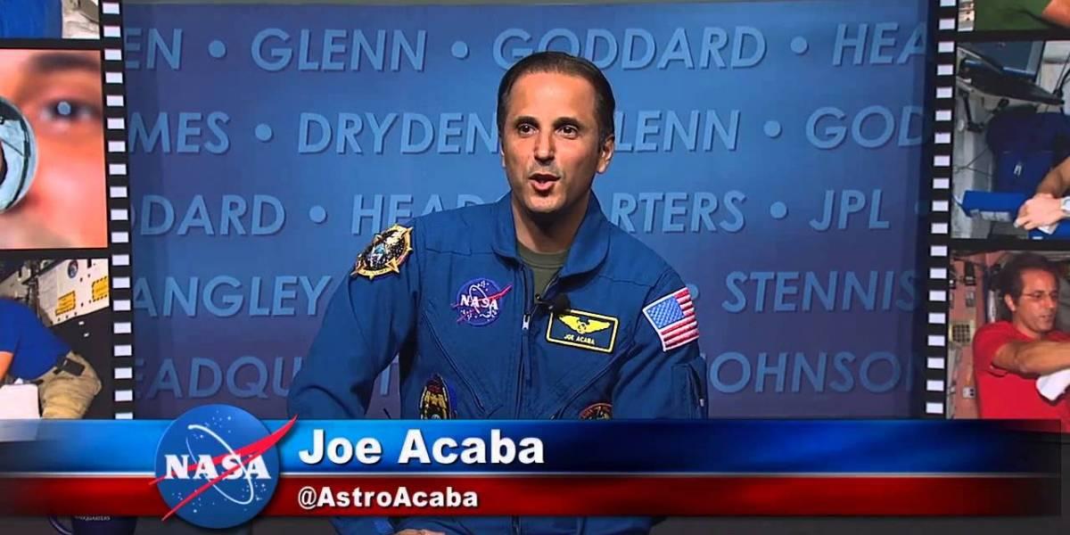 Astronauta boricua Joseph Acabá regresa al espacio