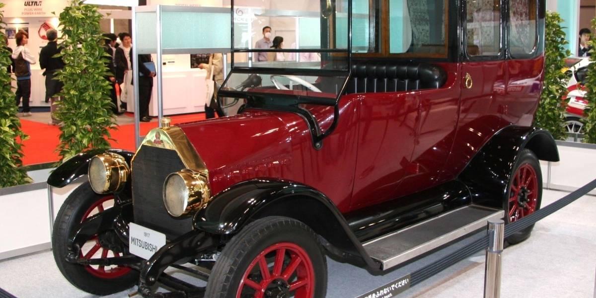 El primer auto de Mitsubishi cumplió un siglo