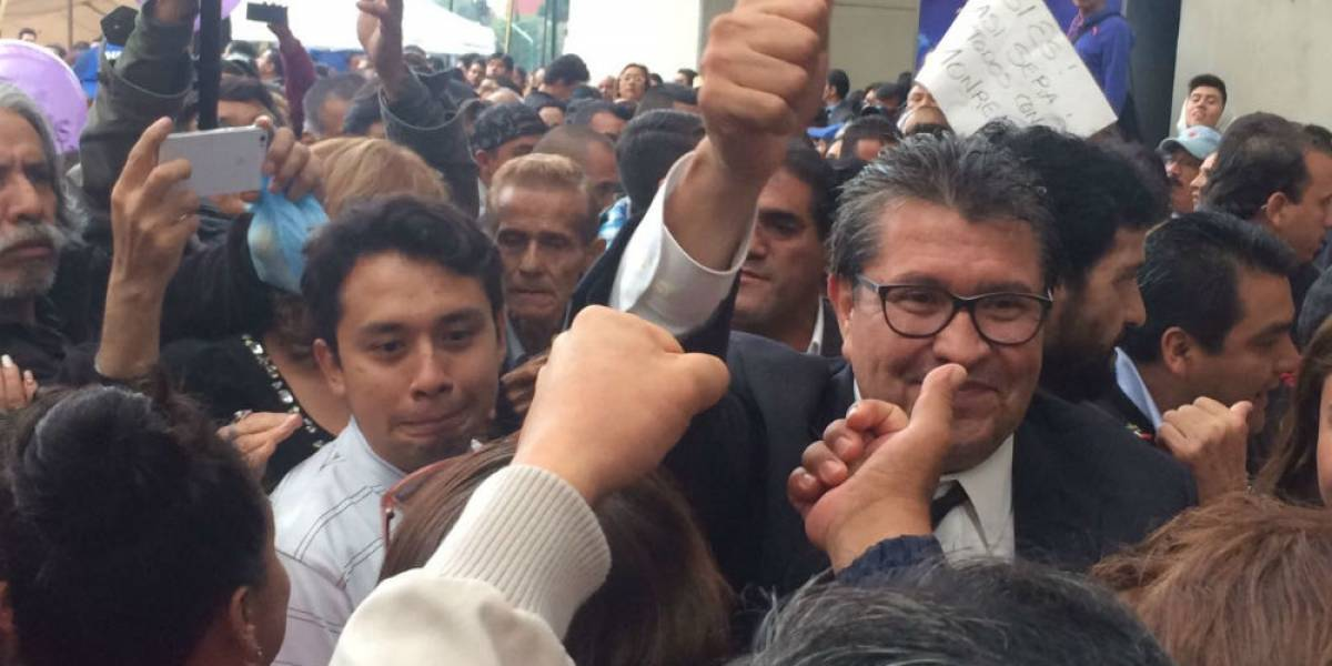 Monreal propone a Morena reponer encuesta