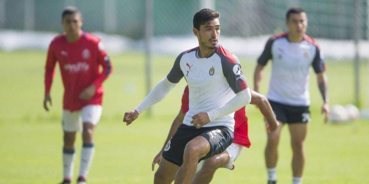 Oswaldo Alanís empieza a recuperar su nivel con Chivas
