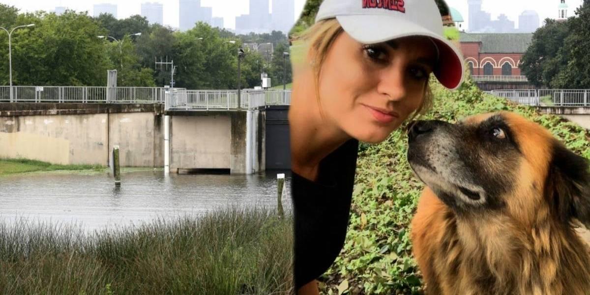 La historia de Otis, el perrito que escapó de las inundaciones llevandouna bolsa de concentrado