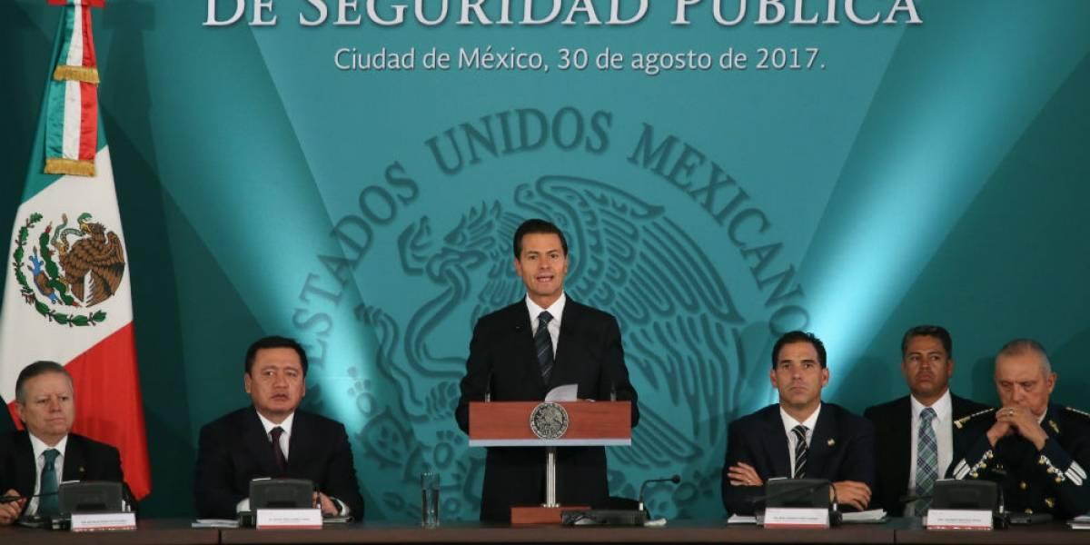 Peña Nieto llama a definir implementación de Mando Único en todo el país