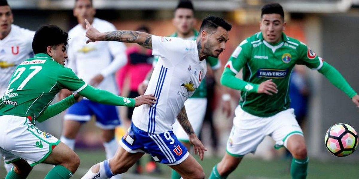 """Así vivimos la goleada de la U que lavó su herida """"superclásica"""" ante Audax en Copa Chile"""