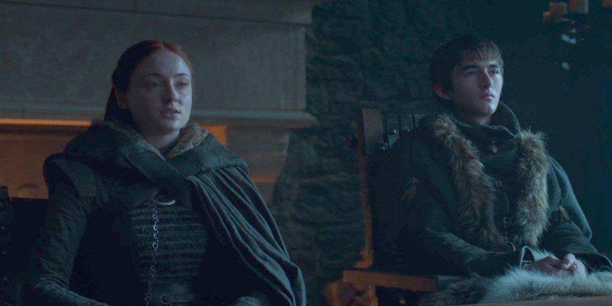 Isaac Hempstead-Wright habla de la escena eliminada entre Bran y Sansa