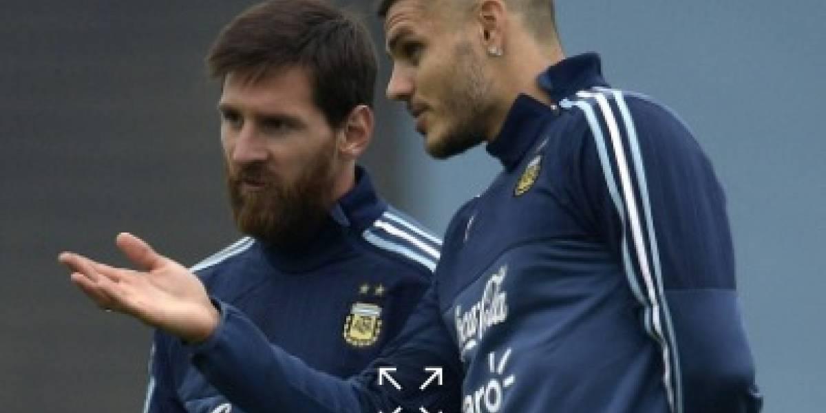 El meme de Messi e Icardi se hace viral