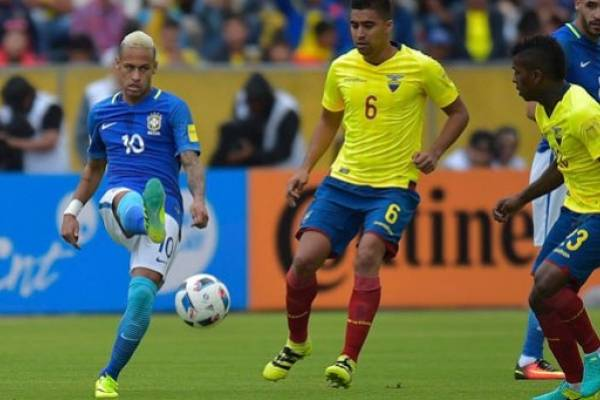 Resultado de Brasil vs. Ecuador