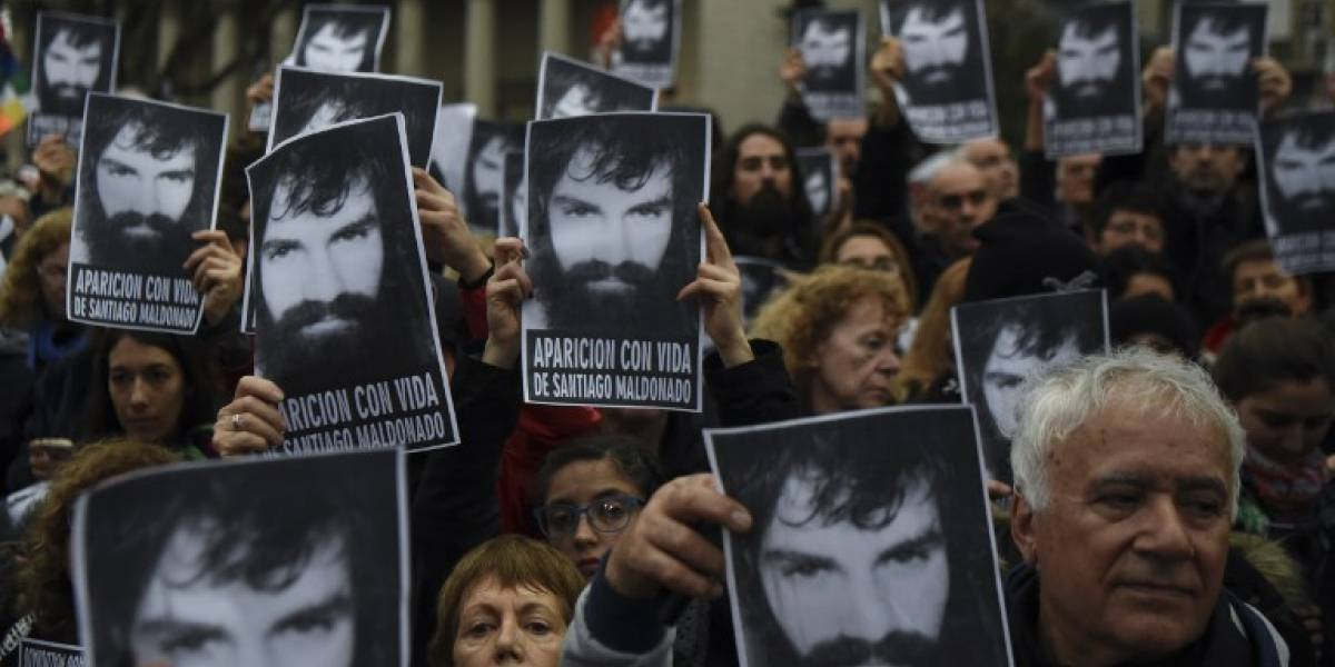 Docentes argentinos divididos por el caso de Santiago Maldonado