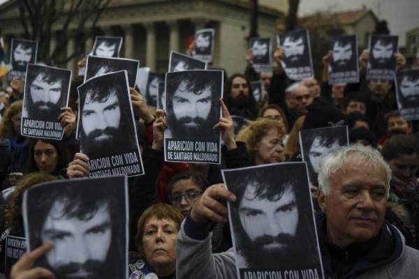 Manifestantes pide aparición de Maldonado