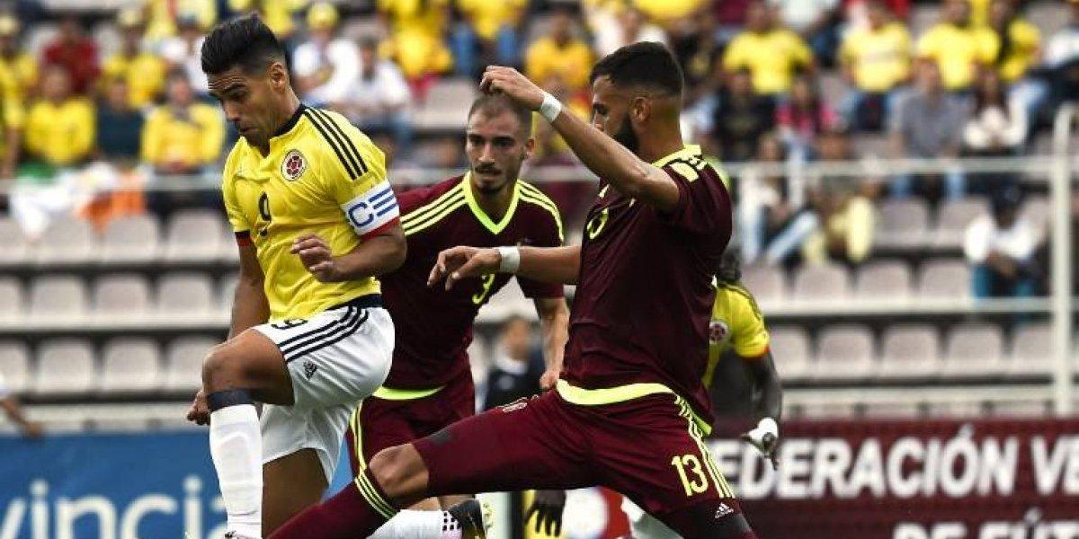 Colombia dio otro pasito al Mundial de Rusia al igualar con Venezuela