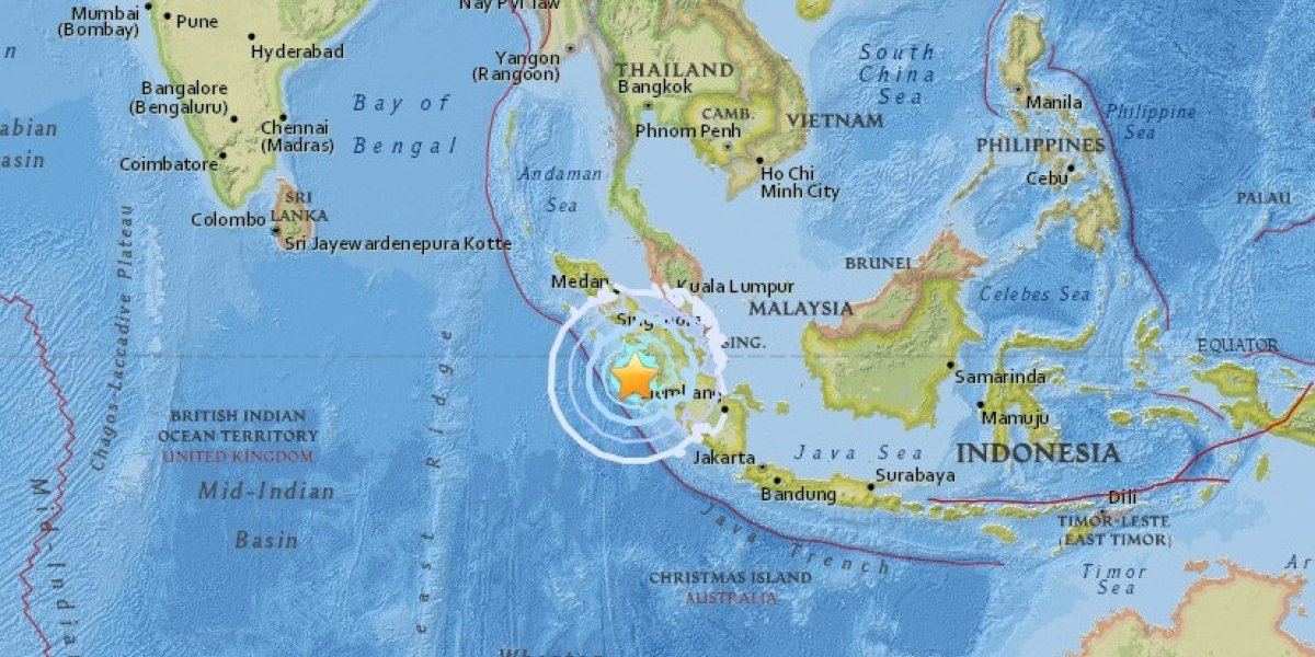 Terremoto de 6,2 sacude Indonesia