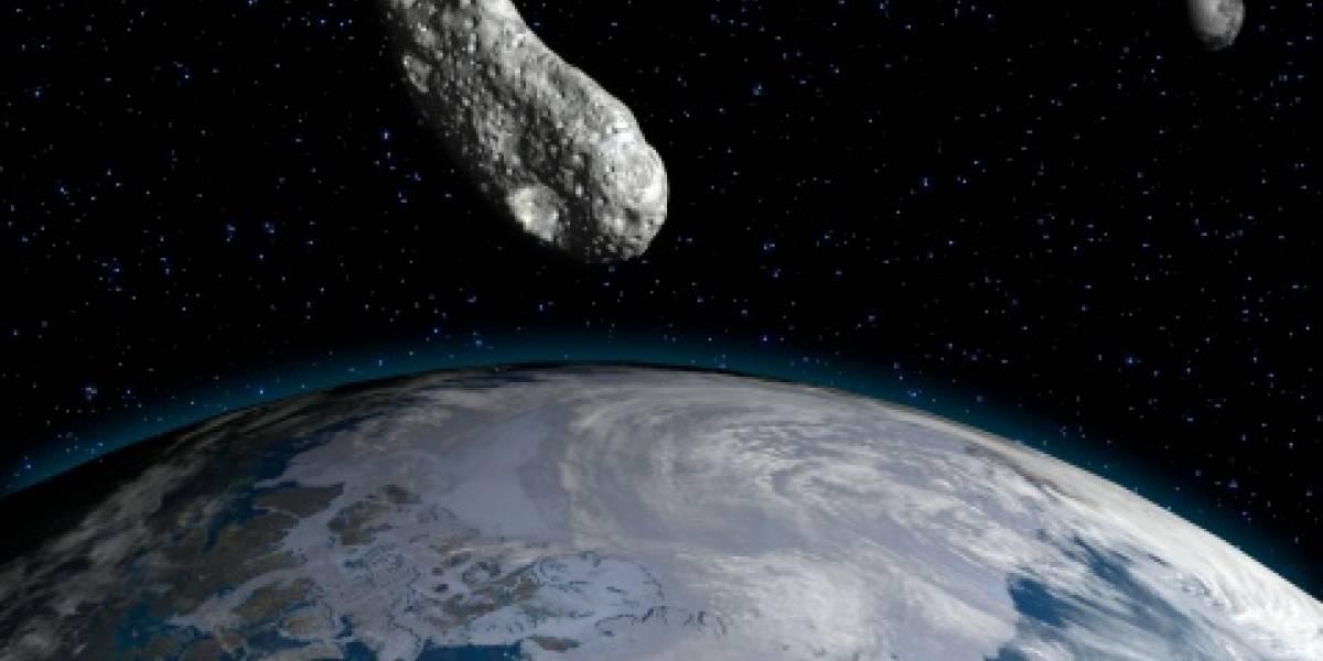 Así será la trayectoria del asteroide en las próximas 24 horas