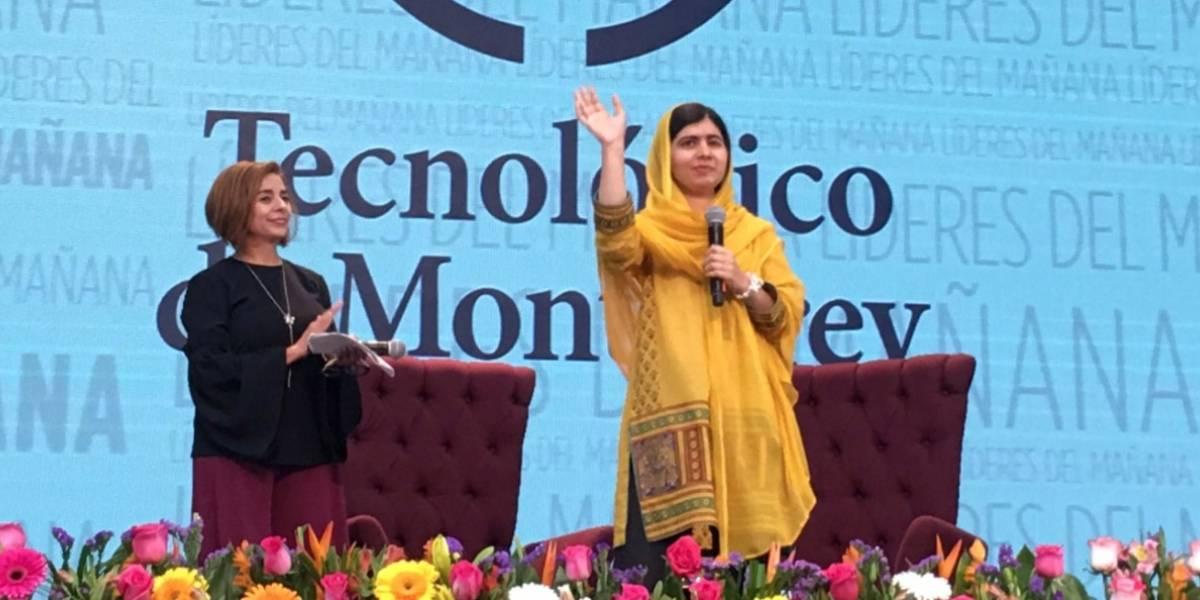 En México muchas niñas abandonan la escuela y eso es muy triste: Malala