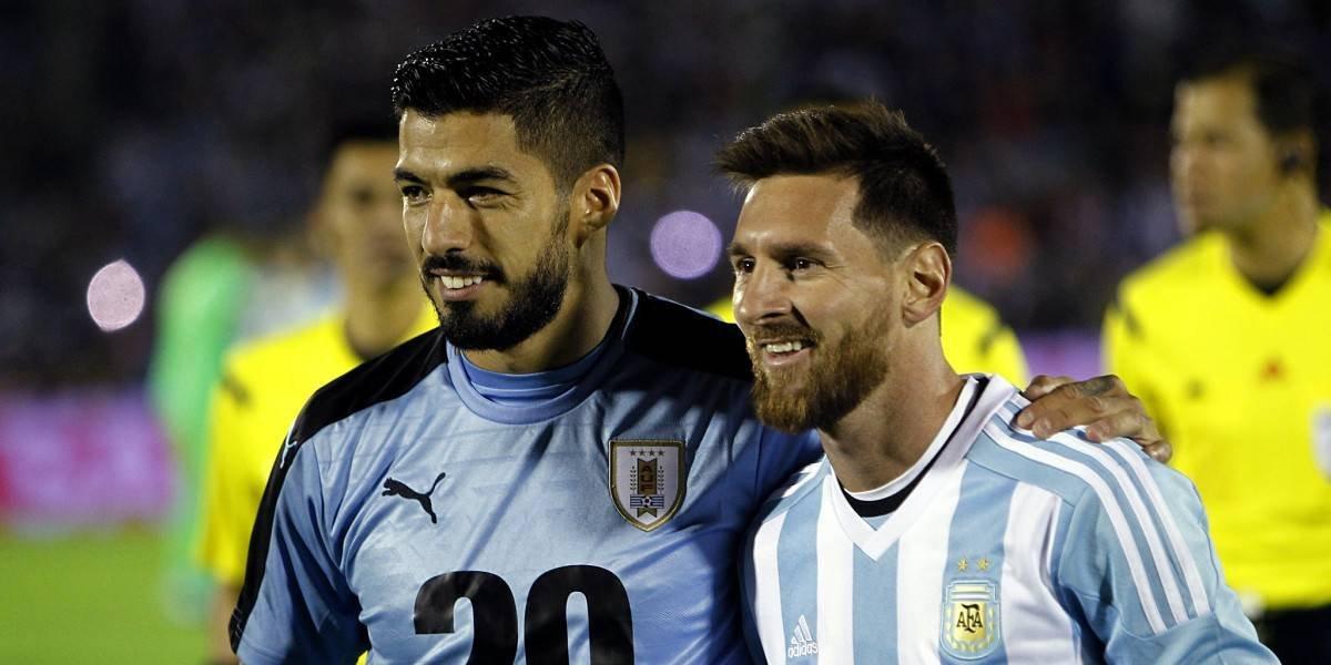 ¡Amistad! Uruguay y Argentina jugaron a no jugar; fue 0-0 previsible