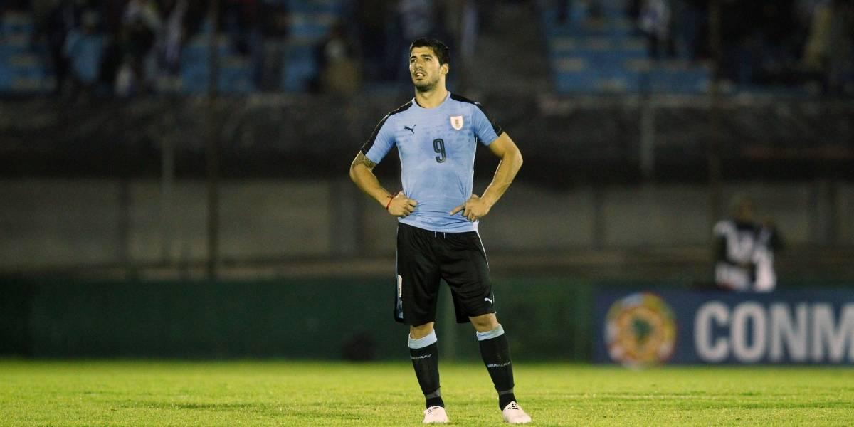 Luis Suárez, listo para jugar contra Messi en el Uruguay vs Argentina