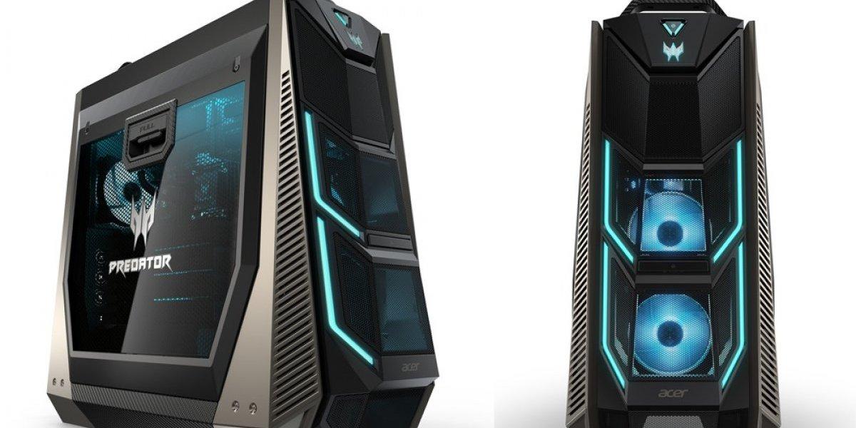 """Acer presenta una nueva """"bestia"""" para gamers: Predator Orion 9000"""
