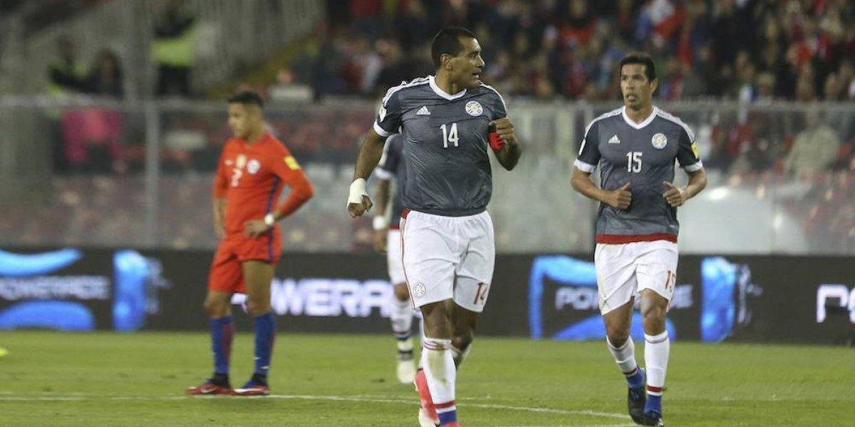 Paraguay golea a Chile en las eliminatorias de la Conmebol