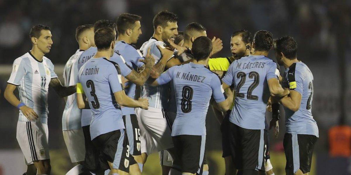 Uruguay y Argentina no se hacen daño en las eliminatorias