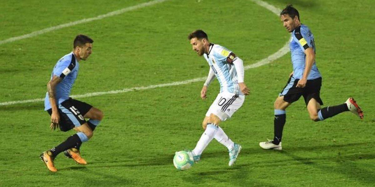 Uruguay y Argentina suman un punto y la albiceleste sigue sin encontrar el rumbo