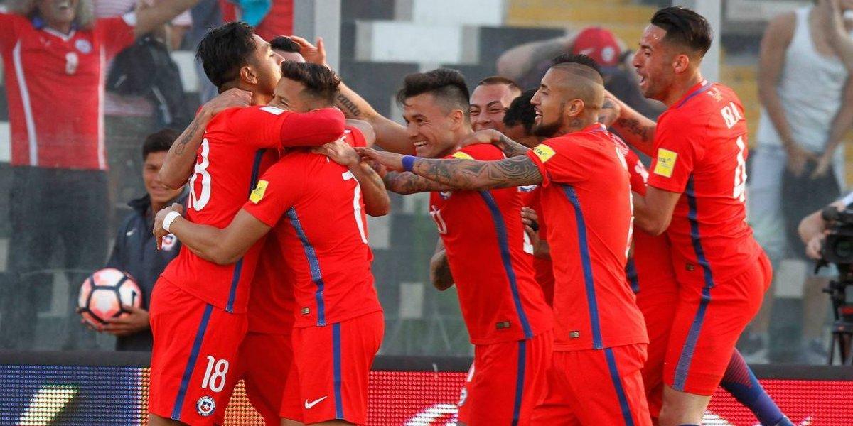 El Gráfico Chile y FOX te regalan la camiseta de la Roja