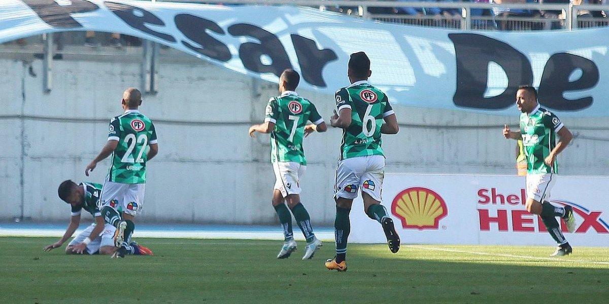 Wanderers ganó en Rancagua por Copa Chile y le dio en el piso a O'Higgins