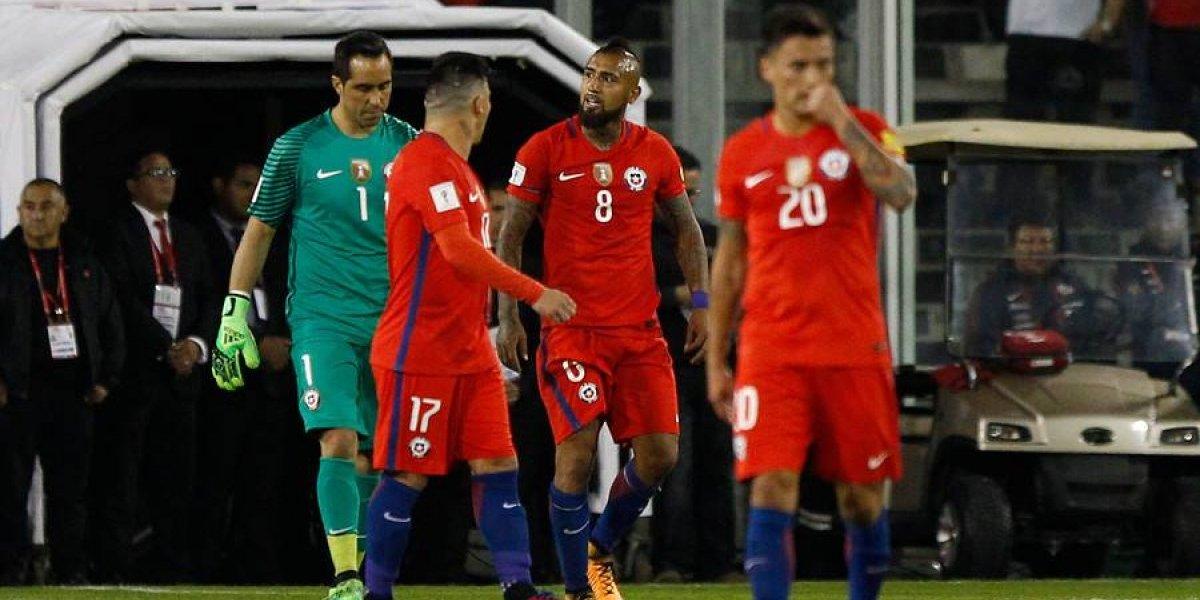 Uno a uno de Chile: equipo perdido, confundido, desafortunado e irreconocible