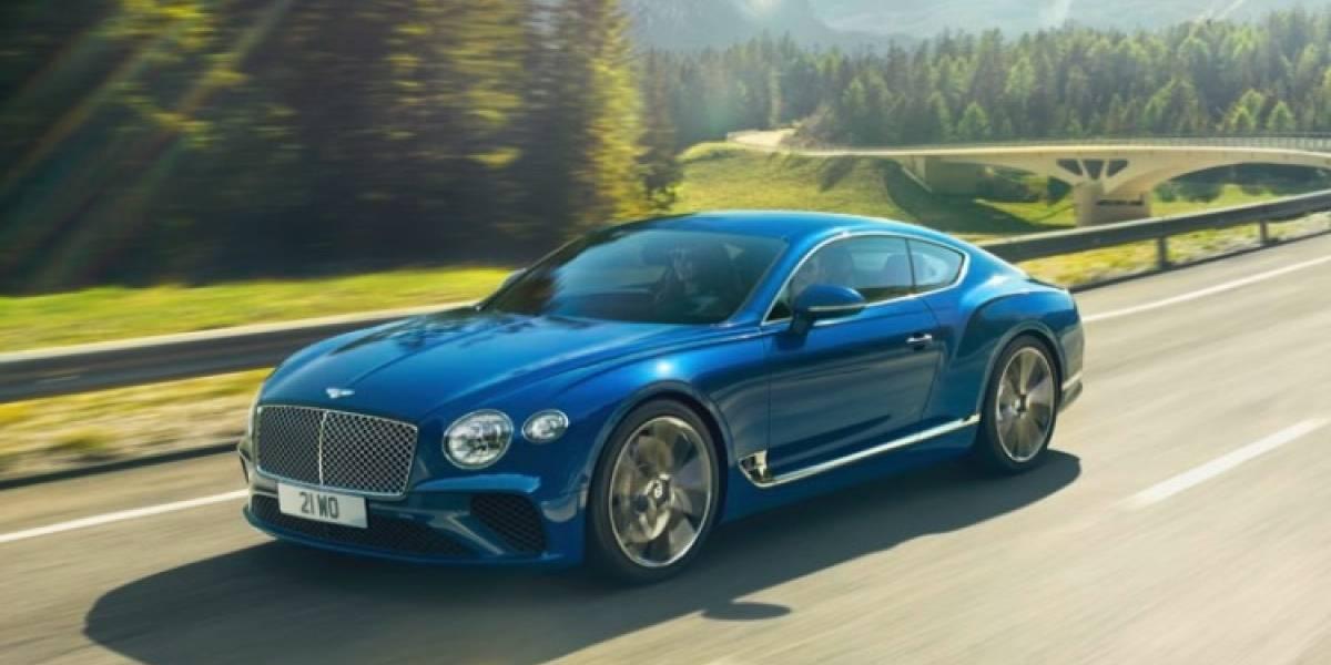 Bentley se adelanta a todos y revela su nuevo Continental GT