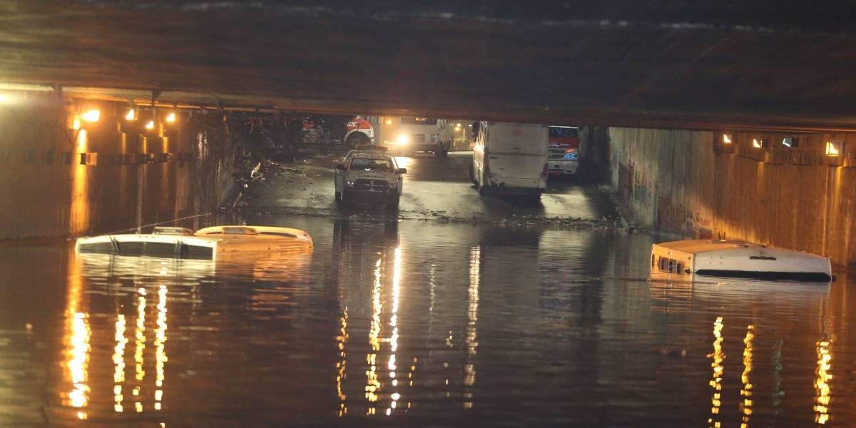 Estas son la avenidas más saturadas por las lluvias en la CDMX
