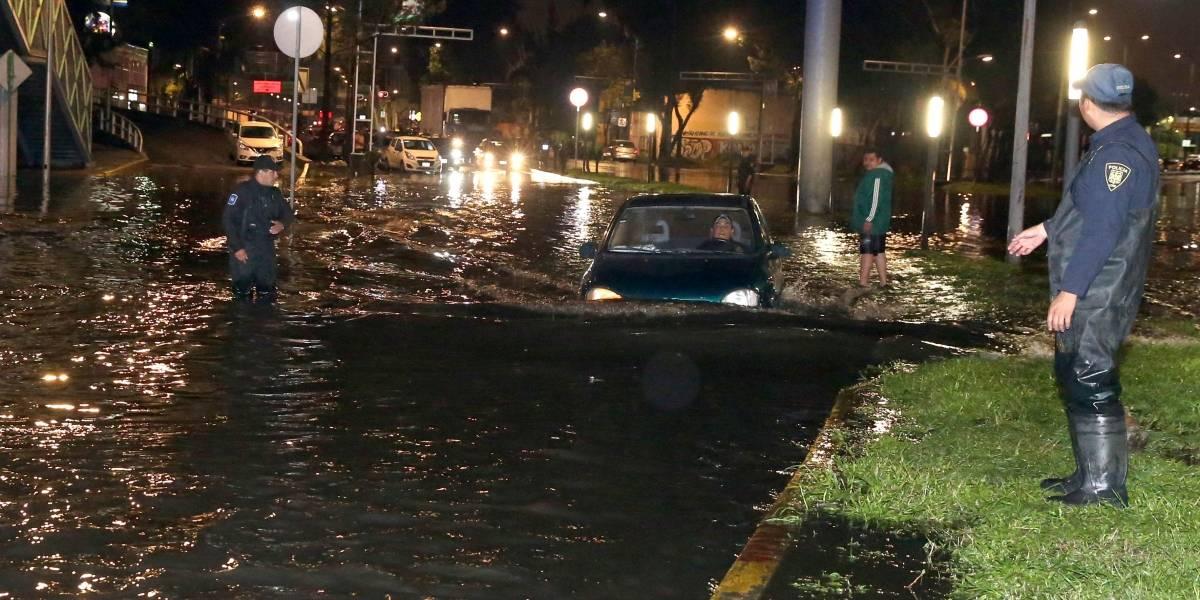 Continuarán fuertes lluvias en gran parte del país; hay riesgo de inundaciones