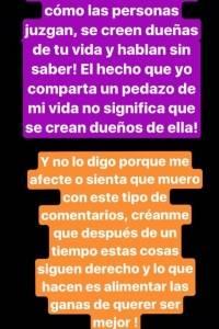 Historias Instagram Tuti Vargas