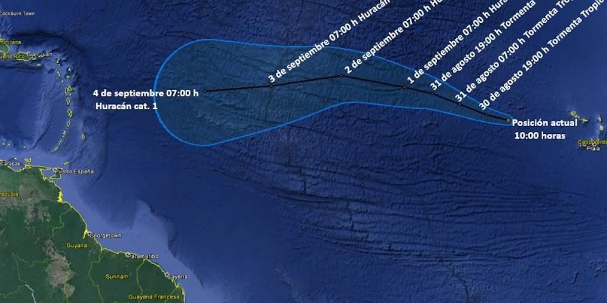 'Irma' se convierte en huracán categoría 2 frente a costas del Caribe