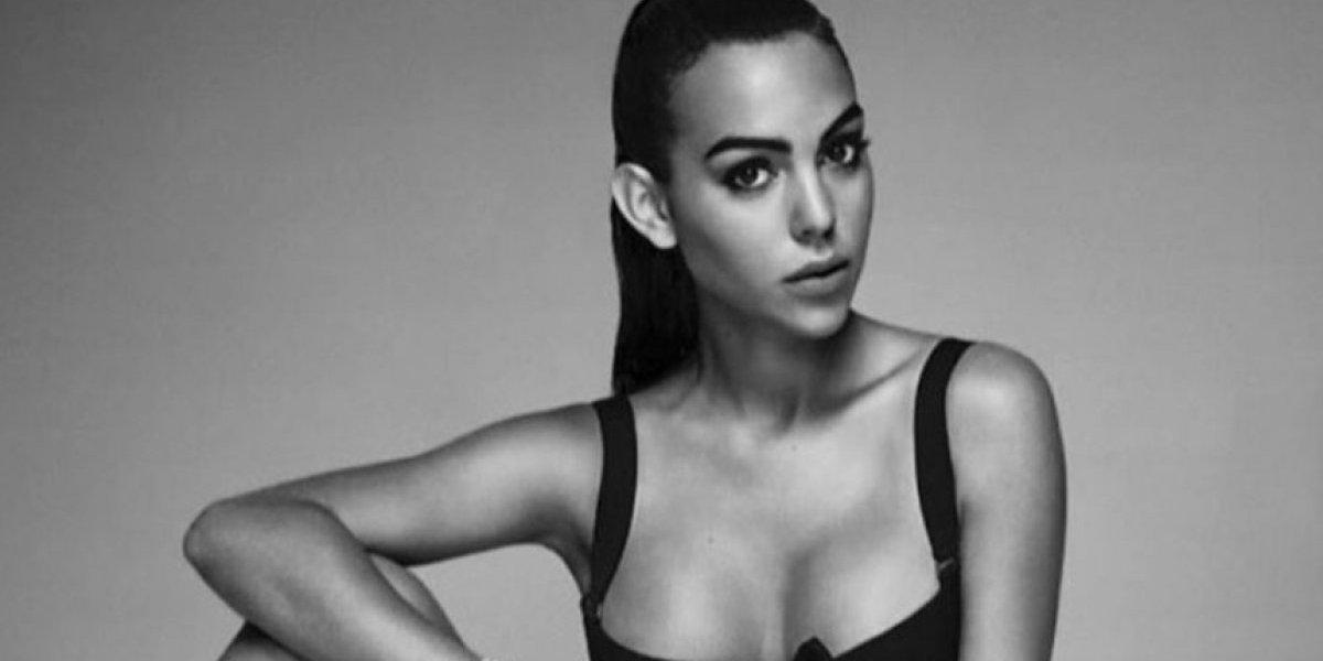 Se filtra foto 'prohibida' en topless de la novia de Cristiano Ronaldo