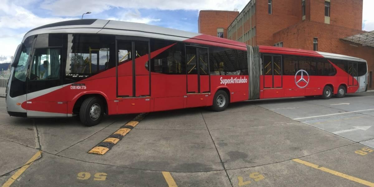 El superarticulado que podría ayudar a bajar la congestión de TransMilenio