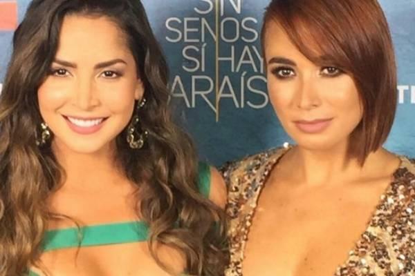 Carmen Villalobos y Majida Issa