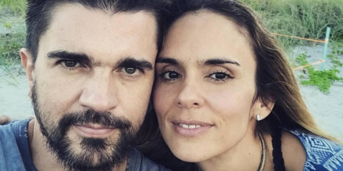 Así lucían Juanes y Karen Martínez hace 14 años