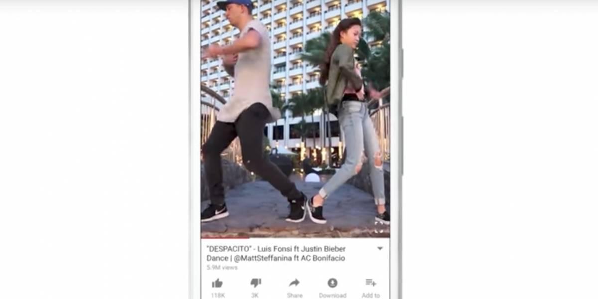 YouTube soportará videos verticales en su app para celular