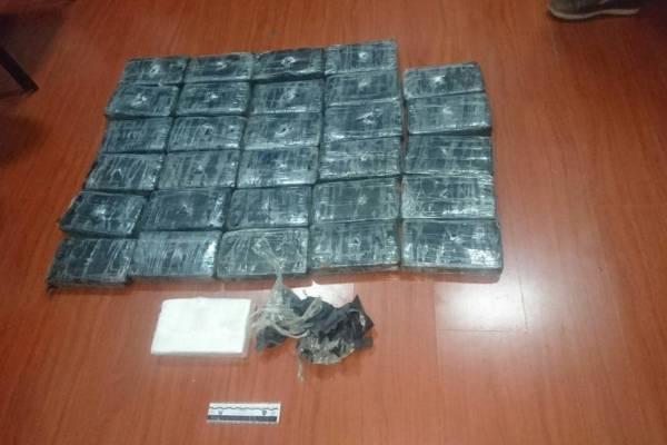 Más de 42 kilos de cocaína con destino internacional fue incautada en Guayaquil