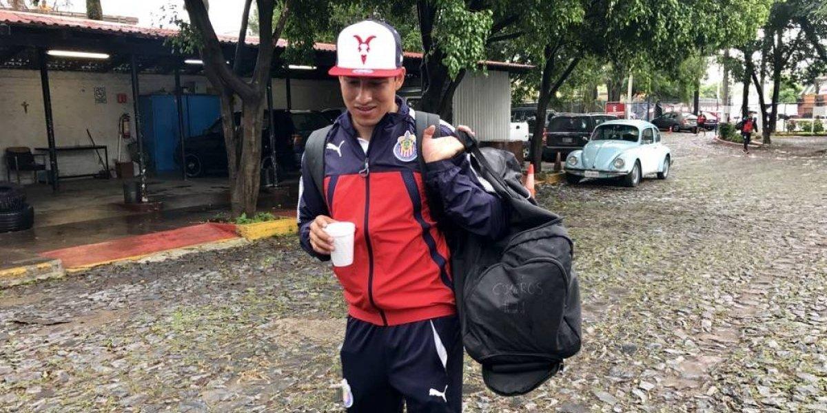 Carlos Cisneros está a punto de volver a jugar con Chivas
